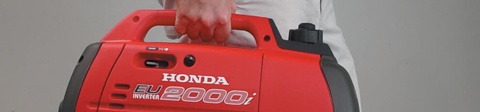 Honda EUi 2000 Aggregaat 1 inverter speciaal voor electronica.